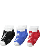 Jefferies Socks - Sneaker Socks Non-Skid 3-Pack (Infant/Toddler)
