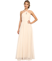 Donna Morgan - Mesh Halter Gown