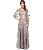 Donna Morgan - Sequin Gown with Sleeve