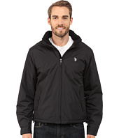 U.S. POLO ASSN. - Mock Neck Jacket Polar Fleece Lined