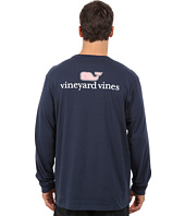 Vineyard Vines - Long Sleeve Vineyard Vines Logo Graphic Pocket T-Shirt