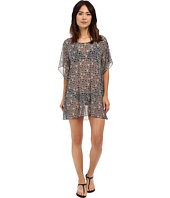 Athena - Gold Coast Geo Tunic Cover-up