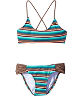 O'Neill Kids - Sea Stripe Halter Swim Set (Little Kids/Big Kids)