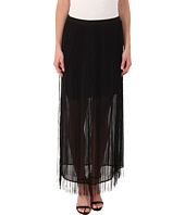 DKNYC - Fringed Maxi Skirt