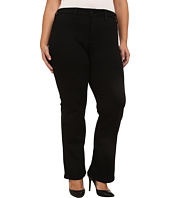 NYDJ Plus Size - Plus Size Isabella Trousers in Black