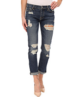 7 For All Mankind - Josefina w/ Aggressive Destroy in Rigid Sanded Blue
