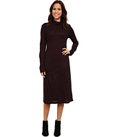 Allen Allen - Long Sleeve Turtleneck Dress