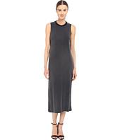 The Kooples - Cupro Jersey & Rib Dress