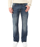 Buffalo David Bitton - Driven Relaxed Straight Leg Jeans in Naturally Sanded/Scratch