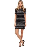 Nicole Miller - Eyelash Stripe Yummy Knit Dress