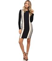 Nicole Miller - Anaconda Long Sleeve Dress
