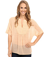 TWO by Vince Camuto - Dreamy Touches Y-Neck Swing Blouse