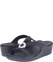 Crocs - Sanrah Beveled Circle Wedge Sandal