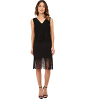 Nicole Miller - Stella Fringe and Lace Party Dress