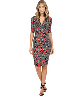 Nicole Miller - Tendrils Stretch Extended Cap Dress