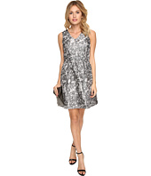 kensie - Marble Brocade Dress KSDK7813
