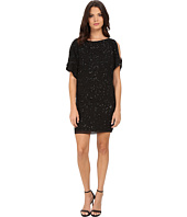 Aidan Mattox - Cold Shoulder Beaded Cocktail Dress