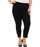 NYDJ Plus Size - Plus Size Ira Slim Ankle in Black