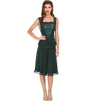 Unique Vintage - Chiffon La Plante Flapper Dress
