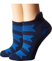 adidas - Studio 2-Pack No Show Socks