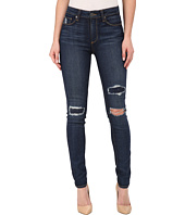 Paige - Hoxton Ultra Skinny Jeans in Talley Destructed