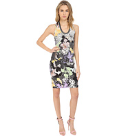 Just Cavalli - Orchid Fish Print Cocktail Dress