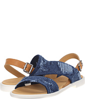 MM6 Maison Margiela - Frayed Denim Flat Sandal