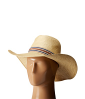 Vince Camuto - Stripe Grosgrain Wide Brim Floppy Hat