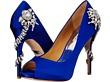 Iris Blue Satin