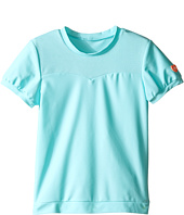 Seafolly Kids - Peek A Boo Short Sleeve Rashie (Infant/Toddler/Little Kids)