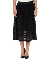 Nally & Millie - Lace Elastic Waist Fully Lined Skirt