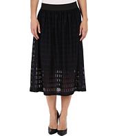 Nally & Millie - Lace Elastic Waist Fully Lined Skirt