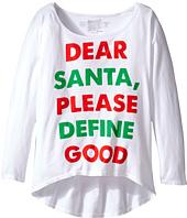 The Original Retro Brand Kids - Dear Santa Dolman Tee (Big Kids)