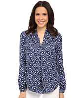 MICHAEL Michael Kors - Mercer Print V-Neck Top