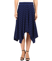 Mod-o-doc - Tonal Tencel Stripe Handkerchief Stripe Skirt
