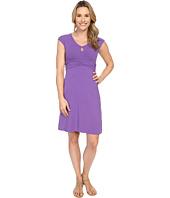 Mod-o-doc - Cotton Modal Spandex Jersey Classic Keyhole Cap Sleeve Dress