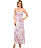 Tommy Bahama - Palais Paisley Strapless Dress