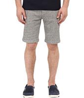 The Kooples - Sport Melange Fleece & Rib Shorts