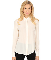 Prabal Gurung - Crepe De Chine Silk Long Sleeve Top