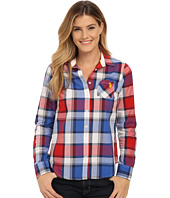U.S. POLO ASSN. - Plaid Poplin Single Pocket Woven Shirt