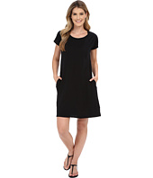 Allen Allen - Short Sleeve Two-Pocket Dress