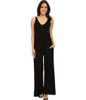 Michael Stars - Vee Neck Wide Leg Jumpsuit