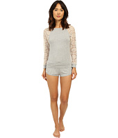 Betsey Johnson - Rayon Knit & Lace Short Set