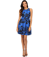 Donna Morgan - Sleeveless Dupioni Fit and Flare