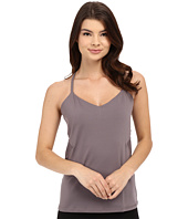 Yummie - Mesh Panel Hillary Strappy Tank Top w/ Built in Shelf
