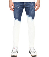 DSQUARED2 - Deep Dip Wash Five-Pocket Skinny Jeans