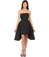 Vera Wang - Bustier Dress w/ Tailored Pencil Skirt and Pleated Back
