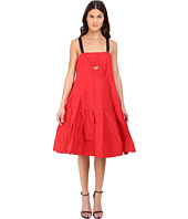 Vera Wang - Dress w/ Cami Neckline & Voluminous Skirt