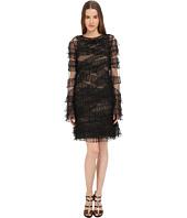 Vera Wang - Sleeveless Dress w/ Ruffled Detail