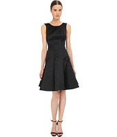 Zac Posen - Satin Double Face Duchess Fit and Flare Sleeveless Dress